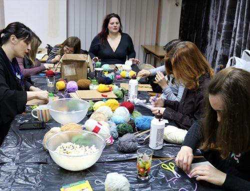 Održana kreativna radionica izrada slika od vune