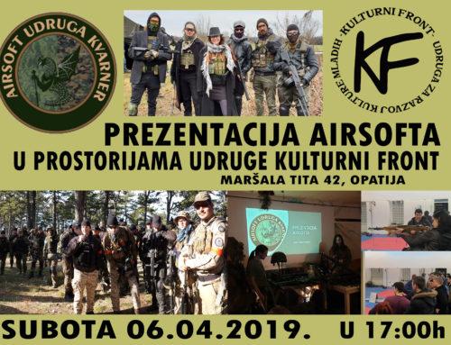 Prezentacija Airsoft udruge Kvarner